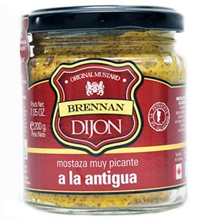 Mostaza Dijon a la antigua Brennan