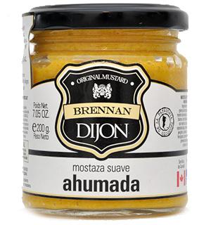 Mostaza Dijon ahumada Brennan