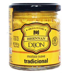 Mostaza Dijon tradicional Brennan