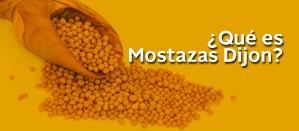 Qué es mostaza dijon
